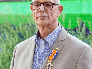 Koninklijk onderscheiden: Dirk den Hollander